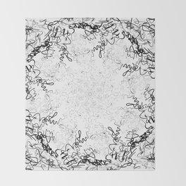 Synesthesia: Bad at Love (Halsey) Throw Blanket