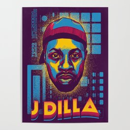 J Dilla ( Top 10 Producers series ) Poster