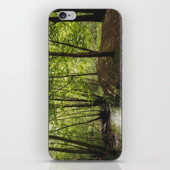 Small woodland stream. iPhone & iPod Skin