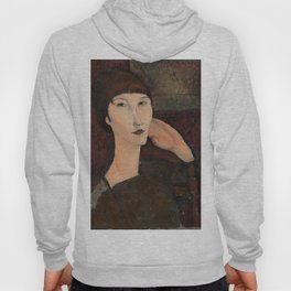"Amedeo Modigliani ""Adrienne (Woman with Bangs)"" (1916) Hoody"