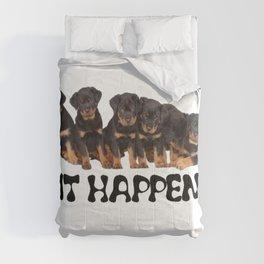 Sit Happens Comforters