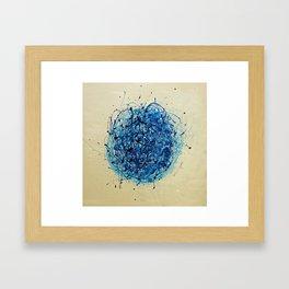 Jackson Pollock Vs Jeff Koons Framed Art Print