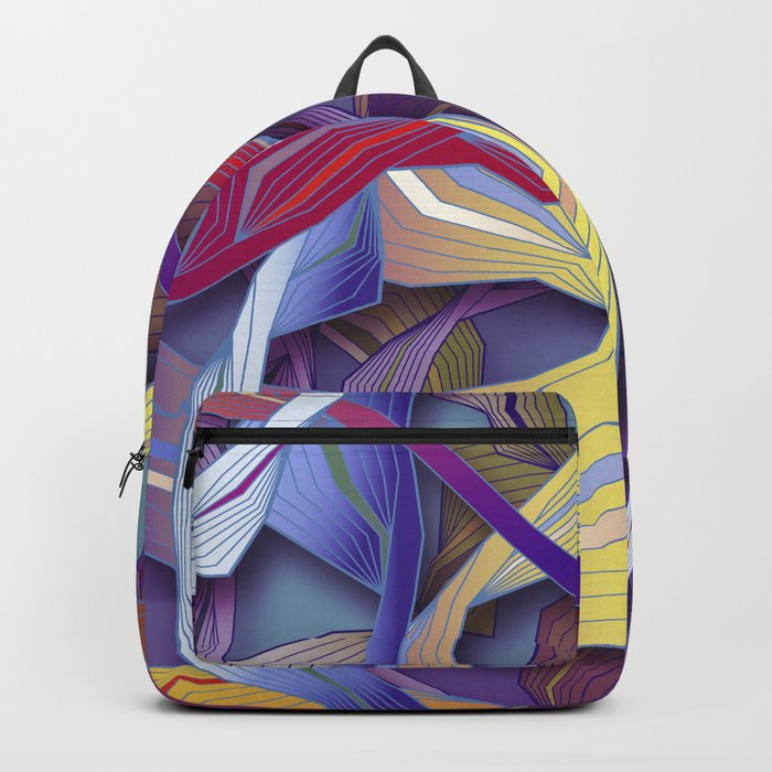 Interaction (in purple) Backpack