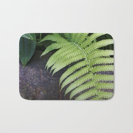 Ferns of Strength in Hawaii Bath Mat