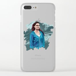 Bea Clear iPhone Case