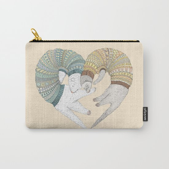 Ferret Sleep Love Carry-All Pouch