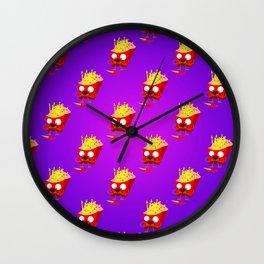 Fry Dude Wall Clock