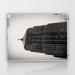 Chicago Board of Trade Building Black and White Laptop & iPad Skin
