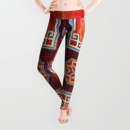 Obruk Konya Antique Turkish Long Rug Leggings