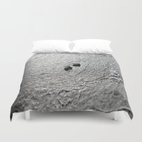 salt water Duvet Covers featuring Salt by Inaereaedificare