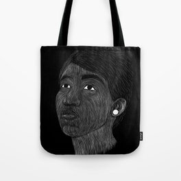 Aretha Franklin Tote Bag