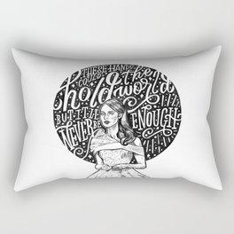 Never Enough Rectangular Pillow
