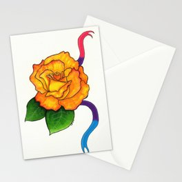 Pride Flowers: The Freddy Mercury Rose Stationery Cards