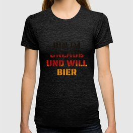 Holiday Beer Germany gift funny T-shirt