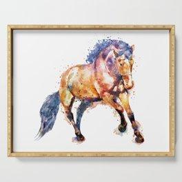 Running Horse Serving Tray
