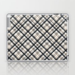 Squares and rectangles under the slope, checkered pattern. Laptop & iPad Skin