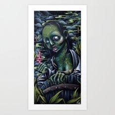 Japanese Ghost Art Print