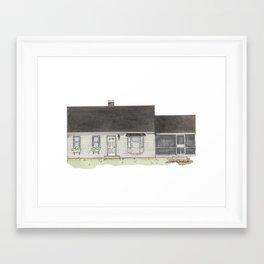 Rines Home Framed Art Print