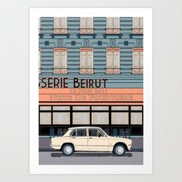 Beirut at Nuits de Fourvière - Lyon, June 18th 2011 Art Print