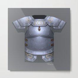 Armor Series: Dwarven Plate Metal Print