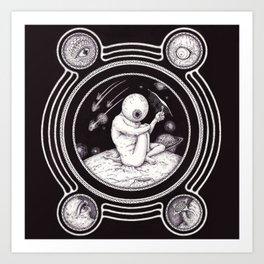 Sp-eye-ce Art Print
