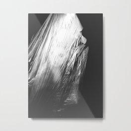 It´s dark, ever. Metal Print