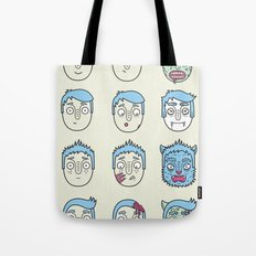 Monster Mash Up Tote Bag
