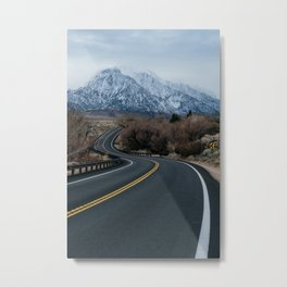 Blue Mountain Road Metal Print