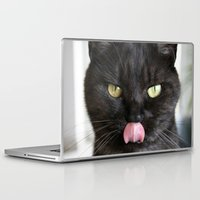 emma stone Laptop & iPad Skins featuring Emma by B Hoagland