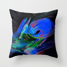 Aurora Windstorm Throw Pillow
