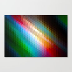 Triangles I Canvas Print