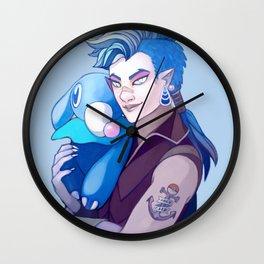 Popplio Wall Clock