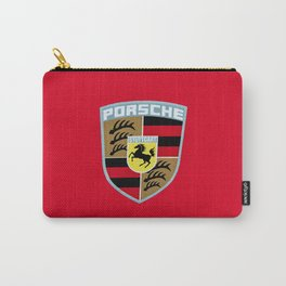 Porsche Automobile Emblem Carry-All Pouch