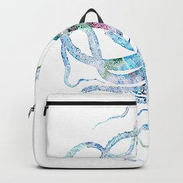 Vintage octopus colorized Backpack
