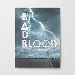 Bastille - Bad Blood #2 Metal Print