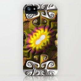 Gnarly Sunflower iPhone Case