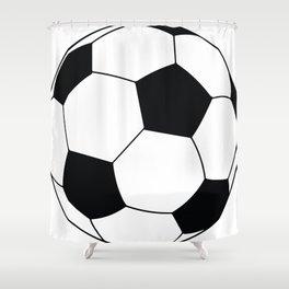 World Cup Soccer Ball - 1970 Shower Curtain