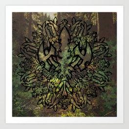 Weapon Mandala Art Print