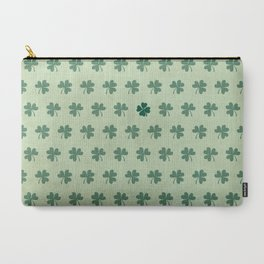 Lucky Clover Pattern Carry-All Pouch