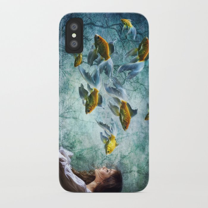 Ocean Deep Dreaming iPhone Case