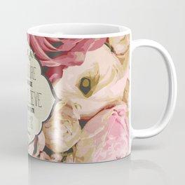 The Future of Peonies Coffee Mug