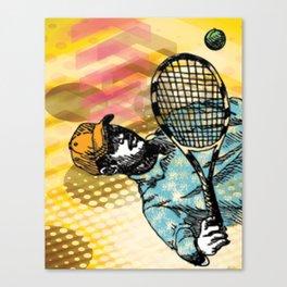 Tennis Backhand Canvas Print
