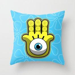 Evil Sponge Throw Pillow