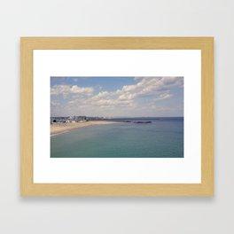 Point's End Framed Art Print