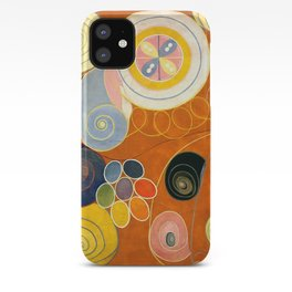 """Hilma af Klint """"The Ten Largest, No. 03, Youth, Group IV"""" iPhone Case"""