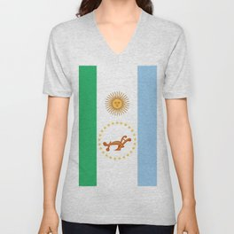 flag of Chaco Unisex V-Neck