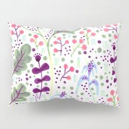 Marker Florals Pillow Sham