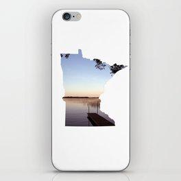 Lake Minnesota iPhone Skin