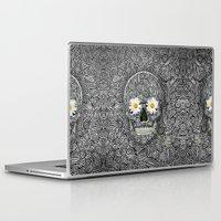calavera Laptop & iPad Skins featuring Calavera by AkuMimpi