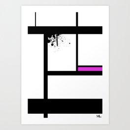 Lost Control Art Print